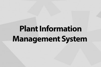 plant information management system