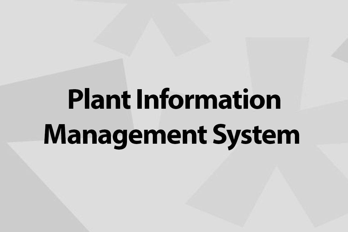 plant information management system
